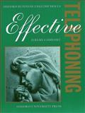 Effective Telephoning, Jeremy Comfort, 0194570932