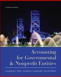 Accounting for Governmental and Nonprofit Entities, Wilson, Earl Ray and Reck, Jacqueline L., 0078110939