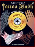 Mehndi Tattoo Flash CD-ROM and Book, Alan Weller, 0486990931