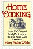 Home Cooking, Mary P. Wilde, 0884860930