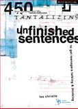 Unfinished Sentences, Les Christie, 0310230934