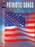 Patriotic Songs, Pamela Schultz, Robert Schultz, 0757990932