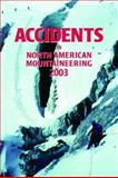 Accidents in North American Mountaineering 2003, Jed Williamson, 0930410947