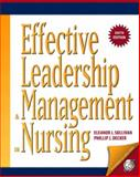 Effective Leadership and Management in Nursing, Sullivan, Eleanor J. and Decker, Phillip J., 0131780948
