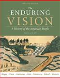 The Enduring Vision 1877, Boyer, Paul S. and Clark, Clifford, 0495800945
