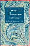 Essays in Thomism, Robert E. Brennan, 149820094X