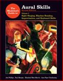 Aural Skills Vol. 1 : Sight-Singing, Rhythm-Reading, Improvisation, and Keyboard Skills, Clendinning, Jane Piper and Marvin, Elizabeth West, 0393930947