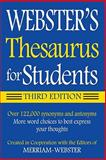 Webster's Thesaurus for Students, Merriam-Webster, 1596950943