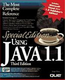 Special Edition Using Java 1.1, Weber, Joseph, 0789710943