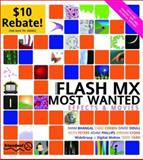 Flash MX Most Wanted : Effects and Movies, Phillips, Adam and Corbin, Chad, 1903450942