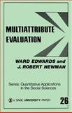 Multiattribute Evaluation, Edwards, Ward and Newman, J. Robert, 0803900953