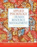 Applied Psychology in Human Resource Management, Cascio, Wayne F. and Aguinis, Herman, 0136090958