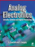 Analog Electronics : Circuits, Systems and Signal Processing, Crecraft, David I. and Gergely, Stephen, 0750650958