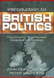 Introduction to British Politics, Dearlove, John and Saunders, Peter, 0745620957