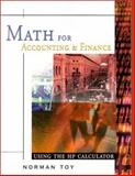 Math for Accounting and Finance, Norman Toy, Dr. Norman Toy, 0324130953