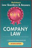 Company Law, Kunalen, S. and McKenzie, Susan, 1841740950