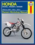 Honda Xr250l, Xr250r and Xr400r, 1986 to 2004, Editors of Haynes Manuals, 1620920964