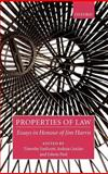 Properties of Law : Essays in Honour of Jim Harris, , 0199290962