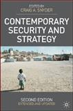 Contemporary Security and Strategy, Snyder, Craig A., 0230520960