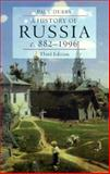 A History of Russia : Medieval, Modern, Contemporary, C. 882-1996, Dukes, Paul, 0822320967