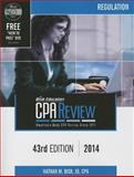 Bisk Education CPA Review, REG Volume, Bisk, 0881280968