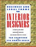 Business and Legal Forms for Interior Designers, Tad Crawford and Eva Doman Bruck, 1581150970