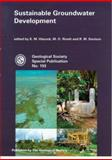 Sustainable Groundwater Development, K. M. Hiscock, 1862390975