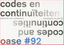 OASE 92: Codes and Continuities, Vittorio Magnago Lampugnani, 9462080976