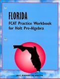 Pre-Algebra, Holt, Rinehart and Winston Staff, 0030380979