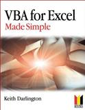 VBA for Excel Made Simple, Darlington, Keith, 075066097X