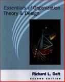 Essentials of Organization Theory and Design 9780324020977