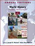 World History Vol. 2 : 1500 to the Present, Mitchell, Joseph and Mitchell, Helen Buss, 0078050979