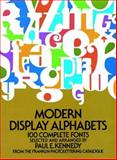 Modern Display Alphabets, , 048623097X