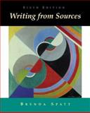 Writing from Sources, Spatt, Brenda, 031239098X