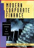 Modern Corporate Finance : An Interdisciplinary Approach to Value Creation, Shapiro, Alan C. and Balbirer, Sheldon D., 0130800988