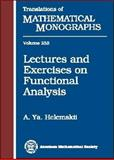 Lectures and Exercises on Functional Analysis, Helemskii, A. Ya., 0821840983