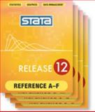 Stata Base Reference Manual-Release 12 (Vol 1-4), , 159718098X