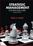 Strategic Management, David, Fred R., 0136120989