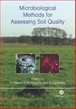 Microbiological Methods for Assessing Soil Quality, Hopkins, David W., 0851990983