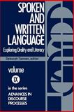 Spoken and Written Language, Deborah Tannen, 0893910996
