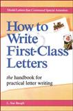 How to Write First-Class Letters 9780844240992
