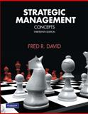 Strategic Management : Concepts, David, Fred R., 0136120997