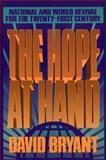 The Hope at Hand, David Bryant, 0801010993