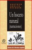 Un Boceto Natural (Narraciones), Bécquer, Gustavo Adolfo, 141351099X