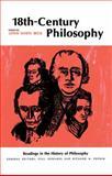 Eighteenth-Century Philosophy, Lewis White Beck, 0029021006