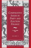 Comparative Issues in Party and Election Finance, F. Leslie Seidle, 1550021001
