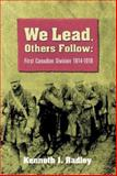 We Lead, Others Follow, Kenneth Radley, 1551251000