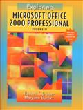 Exploring Microsoft Office Professional 2000, Grauer, Robert T. and Barber, Maryann, 0130111007