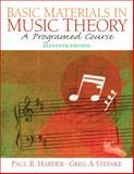 Basic Materials in Music Theory, Steinke, Greg A. and Harder, Paul O., 0131931008