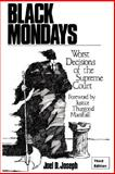 Black Mondays, Joel D. Joseph, 0981451004